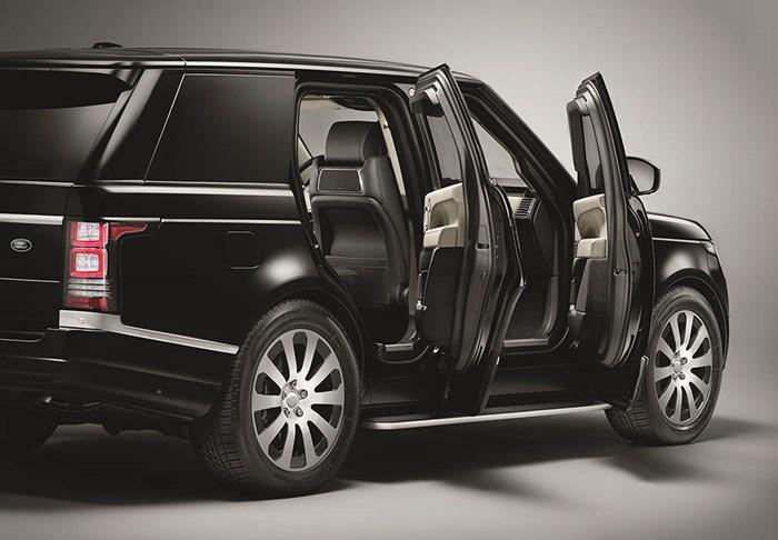 Range Rover Sentinel - SUV chống đạn