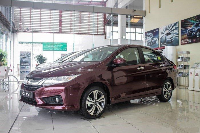 Xe oto Honda City 2016 ra mắt thị trường Việt Nam