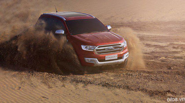 Đánh giá xe Ford Everest 2015: công nghệ đỉnh cao