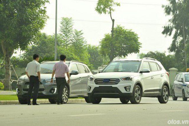 Hyundai Creta chạy thử tại Đồng Văn Mèo Vạc