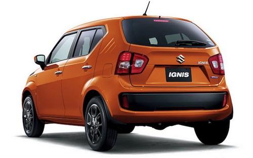 Suzuki Ignis - mẫu compact mới chính thức trình làng