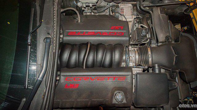 Xe Chevrolet Corvette C06 hàng hiếm tại Hà Nội