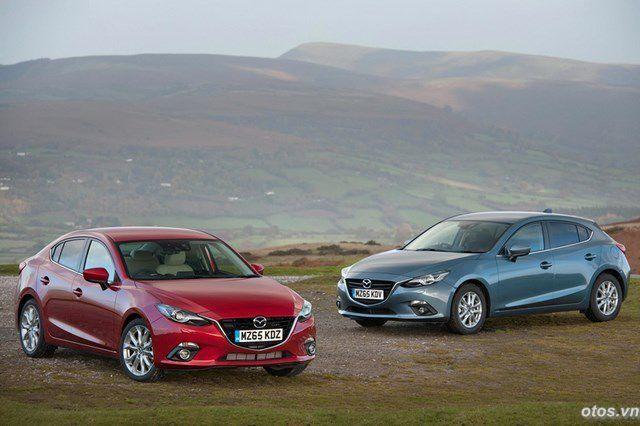 Xe Mazda 3 ra mắt động cơ dầu 1.5L