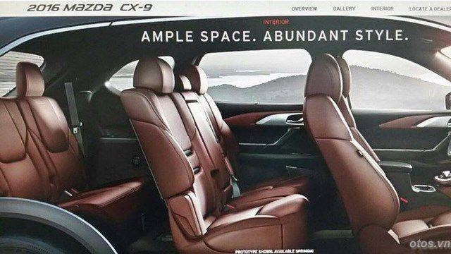 Xe Mazda CX9 2016 chính thức ra mắt