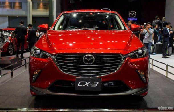 Cận cảnh xe Mazda CX-3 tại Thái Lan