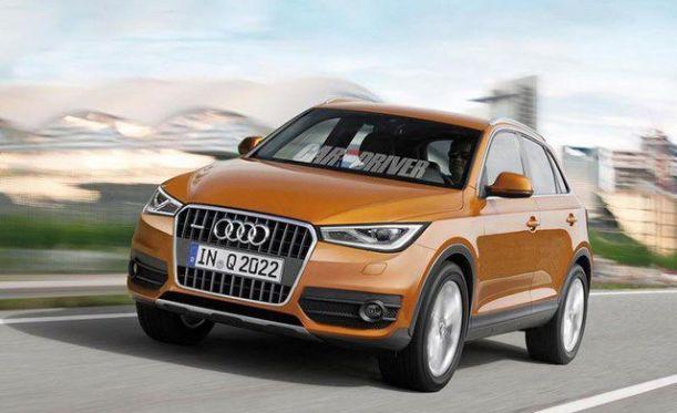 Xe Audi Q2 sắp sửa được ra mắt