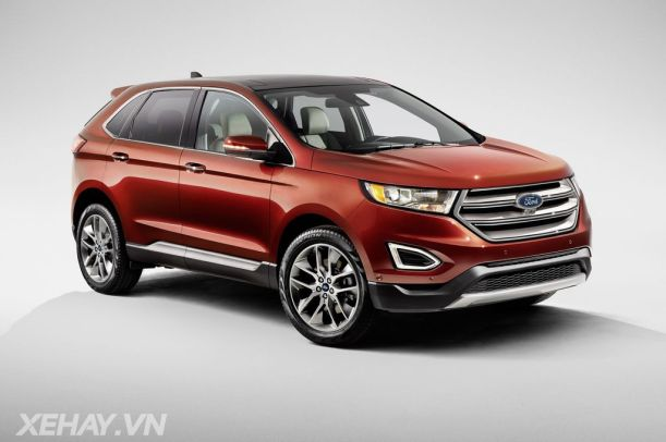 Ford Motor Company today revealed the all-new Ford Edge, a high tech, upscale utility vehicle that will go on sale across Europe for the first time in 2015.
